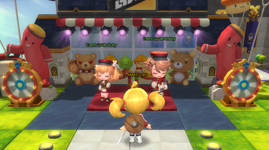 Maplestory 2 Prepares For Its Headstart With    - atlgn com