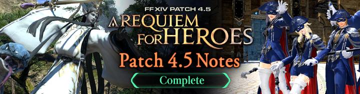Final Fantasy XIV: A Requiem Of Heroes Patch    - atlgn com