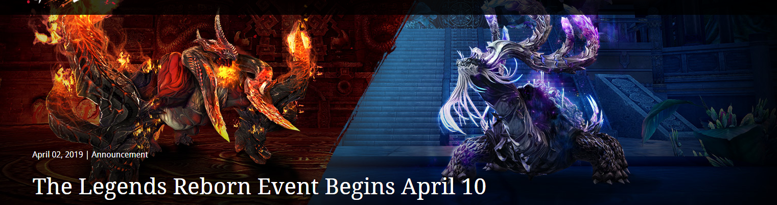 Blade & Soul The Legends Reborn Event... - atlgn.com