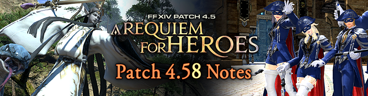 Final Fantasy XIV Launches Patch 4 58 Along    - atlgn com